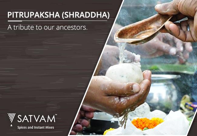 Pitrupaksha (Shraddha) - a tribute to our ancestors