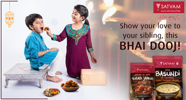 This Bhai Dooj, set a yummy platter for your naughty Brother!