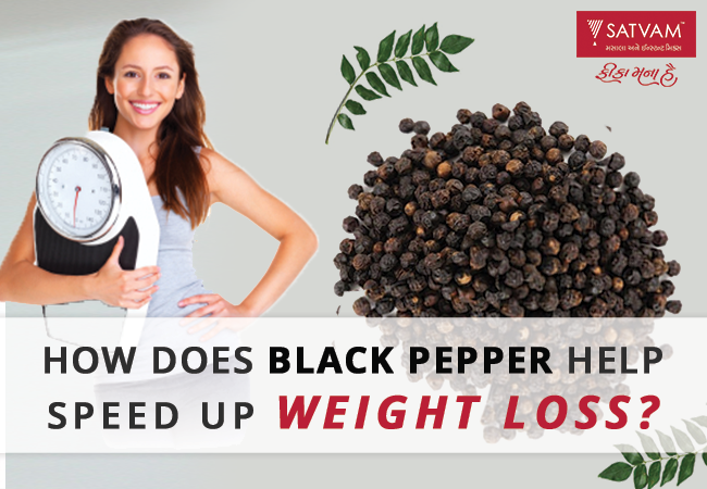 how black pepper lose weight
