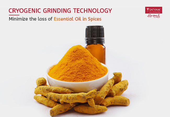 Preserves Essential Oils in Spices using Cryogenic Grinding