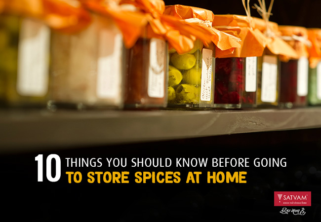 Tips for Storing Indian Spices
