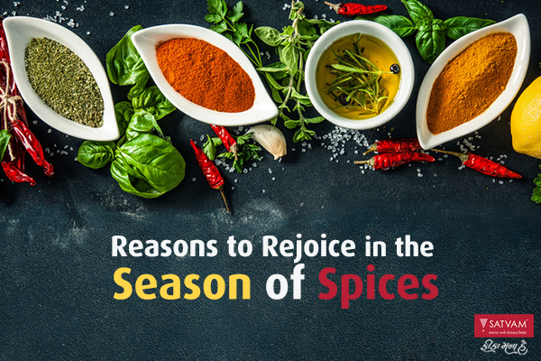 seasoning of spices